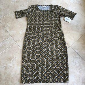 NWT LULAROE XL JULIA DRESS
